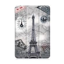 Pouzdro / kryt pro Apple iPad mini 4 / mini 5 - funkce chytrého uspání - plastové - Eiffelovka
