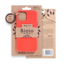 Kryt FOREVER BIOIO - pro Apple iPhone 12 Pro Max - Zero Waste kompostovatelný kryt - červený