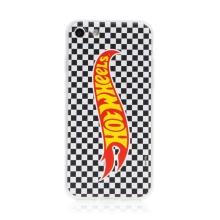 Kryt HOT WHEELS - pro Apple iPhone 7 / 8 / SE (2020) - gumový - šachovnice
