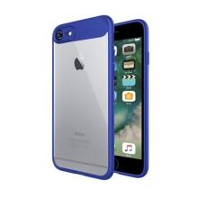 Kryt NXE pro Apple iPhone 6 / 6S - plastový / gumový - průhledný / modrý