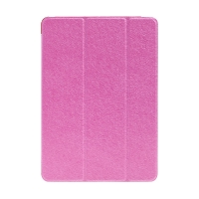 Pouzdro ENKAY pro Apple iPad Air 1 / 9,7 (2017-2018) - stojánek + funkce chytrého uspání - elegantní textura - růžové