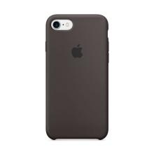 Originální kryt pro Apple iPhone 7 / 8 - silikonový - kakaově hnědý