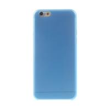 Ultra tenký plastový kryt pro Apple iPhone 6 (tl. 0,3mm) - matný - modrý