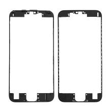 Plastový fixační rámeček pro přední panel (touch screen) Apple iPhone 6S - černý - kvalita A