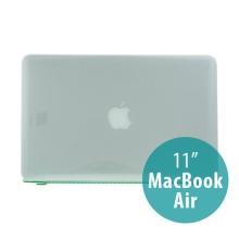 Tenký ochranný plastový obal pro Apple MacBook Air 11.6 - lesklý - zelený
