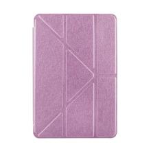 Pouzdro pro Apple iPad mini 4 - funkce chytrého uspání + stojánek - růžové