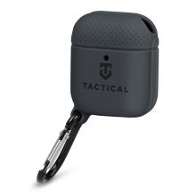 Pouzdro / obal TACTICAL pro Apple AirPods - karabina - silikonové - černé