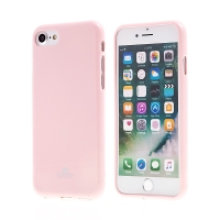 Kryt MERCURY Jelly pro Apple iPhone 7 / 8 - gumový - růžový