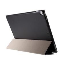 Pouzdro / kryt pro Apple iPad Pro 12,9 / Pro 12,9 (2017) - integrovaný stojánek - umělá kůže - černé