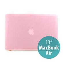 Tenký ochranný plastový obal pro Apple MacBook Air 13.3 - lesklý - růžový