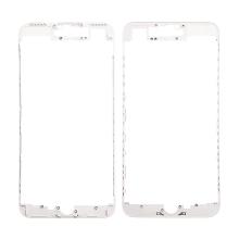 Plastový fixační rámeček pro přední panel (touch screen) Apple iPhone 7 Plus - bílý - kvalita A