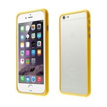 Plasto-gumový rámeček / bumper pro Apple iPhone 6 Plus / 6S Plus - žlutý