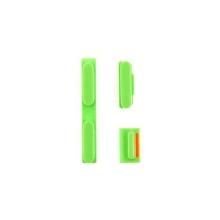 Sada postranních tlačítek / tlačítka pro Apple iPhone 5C (Power + Volume + Mute) - zelená - kvalita A+