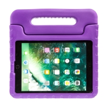 Pouzdro pro děti pro Apple iPad Air 1 / Air 2 / 9,7 (2017-2018) - rukojeť / stojánek - pěnové - fialové