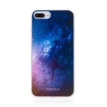 Kryt BABACO pro Apple iPhone 6 Plus / 6S Plus - gumový - galaxie