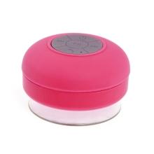 Reproduktor Bluetooth - voděodolný - silikonový - růžový