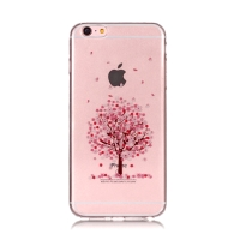 Kryt pro Apple iPhone 6 Plus / 6S Plus - sakura - gumový
