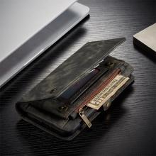 Pouzdro CASEME pro Apple iPhone 11 Pro - peněženka + odnímatelný kryt na telefon - prostor na doklady - šedé