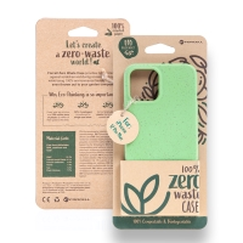 Kryt FORCELL BIO - pro Apple iPhone 12 Pro Max - Zero Waste kompostovatelný kryt - zelený