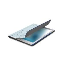 """Pouzdro XOOMZ pro Apple iPad Pro 10,5"""" / Air 10,5"""" (2019) - funkce chytrého uspání + stojánek - modré - včely a květiny"""