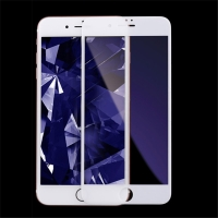 Tvrzené sklo (Tempered Glass) KINGXBAR pro Apple iPhone 7 Plus / 8 Plus - 2,5D - bílé - 0,33mm