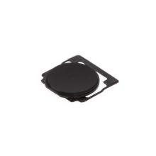 Tlačítko Home Button pro Apple iPad 2 / 3 / 4 - černé / bez čtverečku - kvalita A