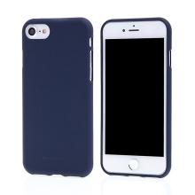 Kryt MERCURY Soft feeling pro Apple iPhone 7 / 8 - gumový - tmavě modrý