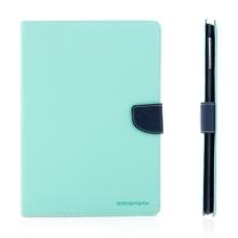 Ochranné pouzdro se stojánkem a prostorem pro platební karty pro Apple iPad Air 1.gen. - tyrkysovo-modré