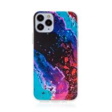 Kryt BABACO pro Apple iPhone 11 Pro - gumový - abstraktní vlnky