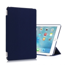 Pouzdro + odnímatelný Smart Cover pro Apple iPad Pro 9,7 - tmavě modré