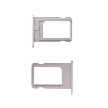 Rámeček / šuplík na Nano SIM pro Apple iPhone 5S / SE - vesmírně šedý (Space Gray) - kvalita A+
