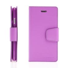 Pouzdro Mercury Sonata Diary pro Apple iPhone 7 / 8 - stojánek a prostor na doklady - fialové