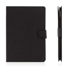 Pouzdro MERCURY Fancy Diary pro Apple iPad Pro 9,7 - stojánek a prostor na doklady - černé