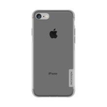 Kryt NILLKIN Nature pro Apple iPhone 7 / 8 / SE (2020) - gumový - průsvitný / šedý