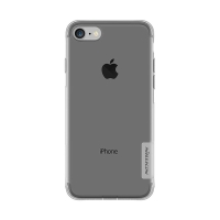 Kryt NILLKIN Nature pro Apple iPhone 7 / 8 - gumový - průsvitný / šedý