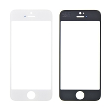 Přední sklo pro Apple iPhone 5 / 5C / 5S / SE - bílé - kvalita A