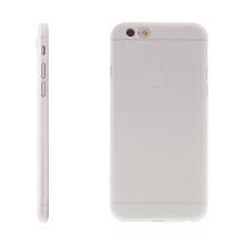 Ultra tenký plastový kryt pro Apple iPhone 6 / 6S - s prvkem pro ochranu skla kamery - průhledný