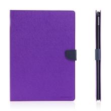 Pouzdro MERCURY Fancy Diary pro Apple iPad Pro 12,9 - stojánek a prostor na doklady - fialové / modré