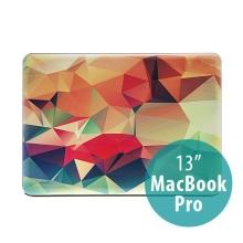 Obal pro Apple MacBook Pro 13 A1278 plastový - 3D tvary
