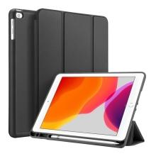 """Pouzdro / kryt DUX DUCIS pro Apple iPad 10,2"""" (2019-2020) - funkce chytrého uspání + stojánek - černé"""