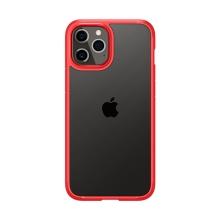 Kryt SPIGEN Ultra hybrid pro Apple iPhone 12  / 12 Pro - plastový / gumový - červený