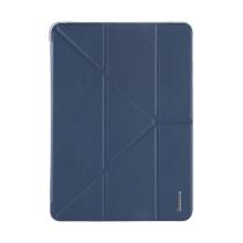 Pouzdro BASEUS pro Apple iPad Pro 12,9 / 12,9 (2017) - funkce chytrého uspání + stojánek - tmavě modré