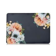 "Obal / kryt pro Apple MacBook Air / Air M1 (2018-2021) 13"" (A1932, A2179, A2337) - plastový - květiny"