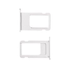 Rámeček / šuplík na Nano SIM pro Apple iPhone 6S Plus - stříbrný (silver) - kvalita A+