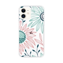 Kryt pro Apple iPhone 11 - gumový - kreslené květiny