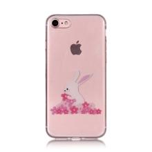 Kryt pro Apple iPhone 7 / 8 / SE (2020) - králík - gumový