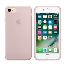 Originální kryt pro Apple iPhone 7 / 8 - silikonový - pískově růžový