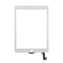 Dotykové sklo (touch screen) pro Apple iPad Air 2 - bílý rámeček - kvalita A+