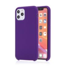 Kryt pro Apple iPhone 11 Pro Max - příjemný na dotek - silikonový - tmavě fialový