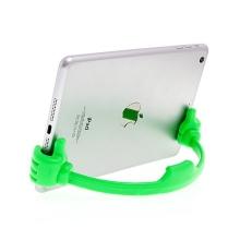 Flexibilní stojánek ruce pro Apple iPhone / iPad mini / iPod touch - zelený